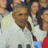 Obama gets angry with heckler